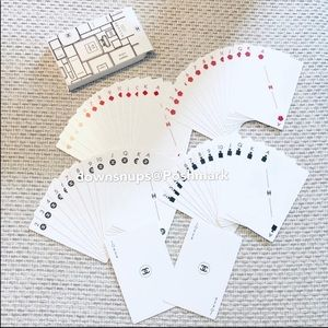 CHANEL Poker Playing Cards